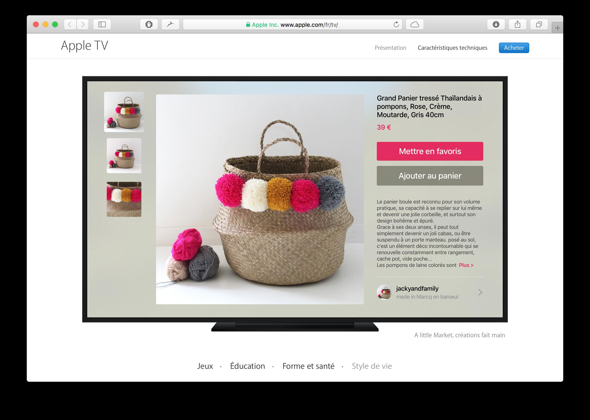 Apple Website featured
